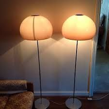 Image result for Guzzini Mushroom Amber Retro Vintage Floor Lamp