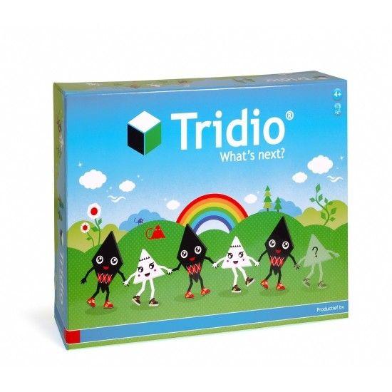 Tridio - Whats next? - Fysiek spelmateriaal om het ruimtelijk inzicht van kinderen te vergroten. Een leuke breinbreker voor jonge kinderen.