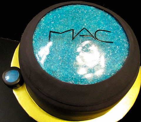 mac eyeshadow cake