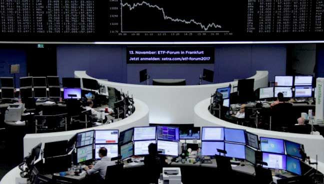Global stocks dip on U.S. tax reform doubt; no respite in havens   The MSCI world index surged more than 20 percent so far this year and some investors believe a pullback is due.  NEW YORK: Global stock indexes and the U.S. dollar cooled off Friday as signs that U.S. tax reform could be delayed impeded the markets momentum.  MSCIs global stock index .MIWD00000PUS which tracks shares in 47 countries declined 0.15 percent slipping further from a record level. On Thursday the global index fell…