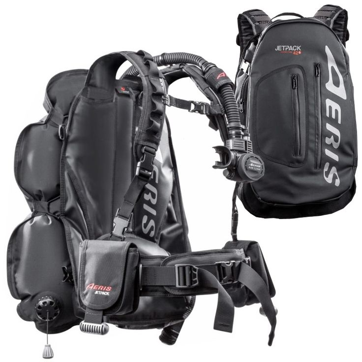 Scuba BCD Carry-On Backpack that can hold your dive gear, by Aeris.