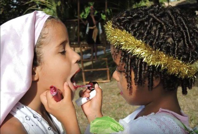 Crèche vivante de la Fazenda do Natal