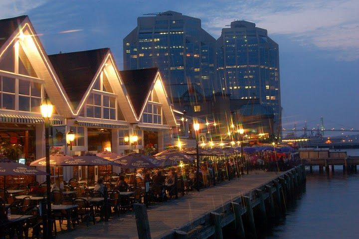 The Waterfront in Halifax, NS, Canada