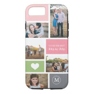 Custom iPhone 7 #Mother'sDay Photo Collage iPhone 7 Case      Buy personalised Mother's Day phone cases at Funky Pigeon. Choose from a range of designs & add your own text or photo. iPhone 4, 5 & 6. Fast despatch.