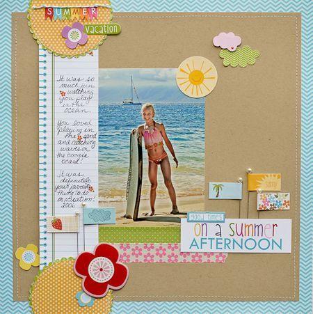 DianePayne_SunshineAndHappiness_Good Times-1: Scrapbook Ideas, Scrapbook Journ, Bellablvd Layout, Blvd Sunshine, Scrapbook Galleries, Bella Blvd, Scrapbook Layout, Happy Ideas, Ideas Galleries