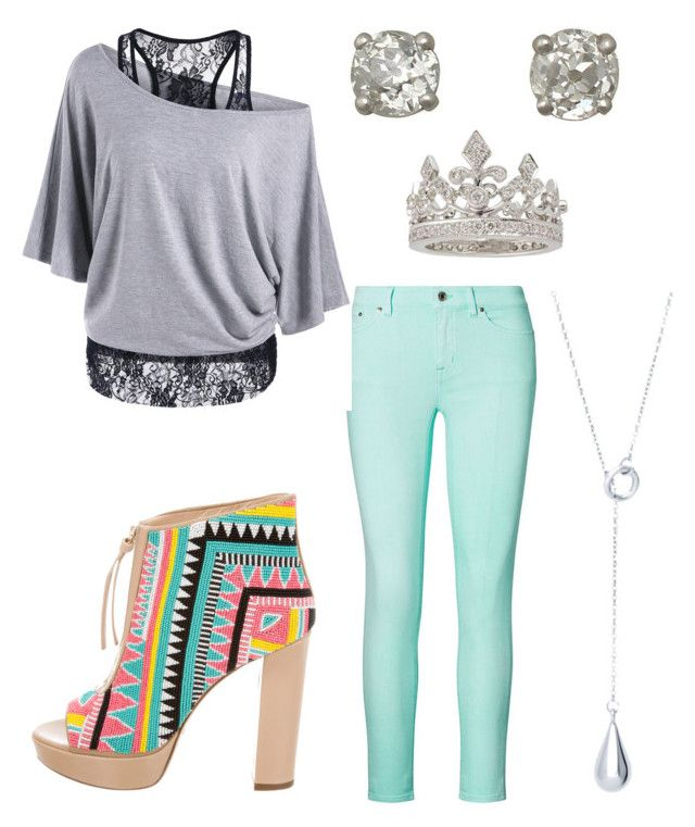 """Casual Day"" by andrea-ward-i on Polyvore featuring Ralph Lauren, Jerome C. Rousseau and Garrard"