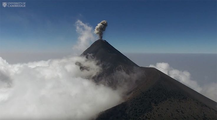 Drones are helping volcanologists get closer than ever before to Guatemala's Volcan de Fuego, near some 60,000 people who are at risk from its frequent eruptions. During a 10-day research trip, the team carried out several flights at the summits of both Volcan de Fuego and Volcan de Pacaya, which is also in Guatemala. Using lightweight modern sensors they measured temperature, humidity and thermal data within the volcanic clouds and took images of multiple eruptions in real-time. This is one…