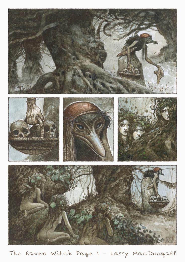 The Raven Witch - Graphic Novel Page by bridge-troll.deviantart.com on @deviantART