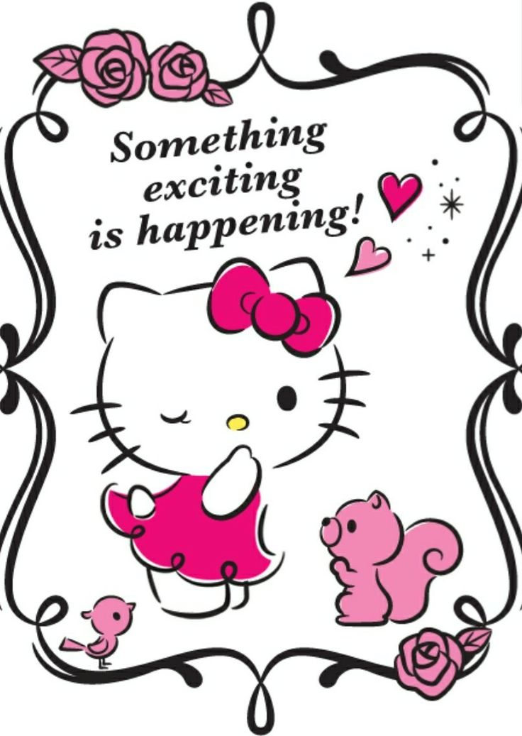 Hello Kitty | Something exciting is happening!
