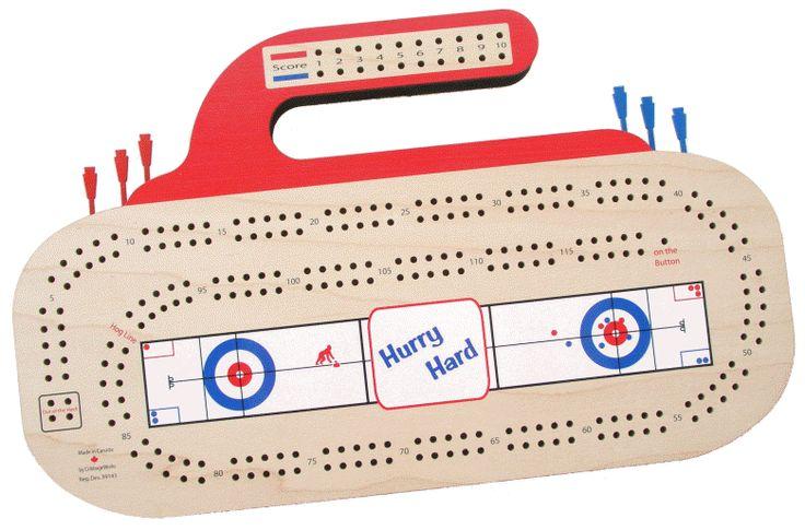 CribbageWorks Curling Rink Crib Board