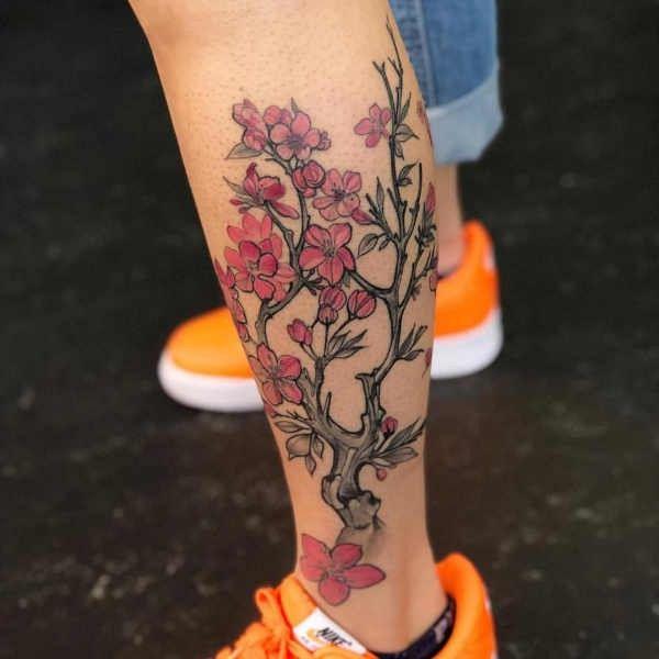 Tatuaz Kwiat Wisni Znaczenie Historia 30 Zdjec Tattoos Flower Tattoo Flowers