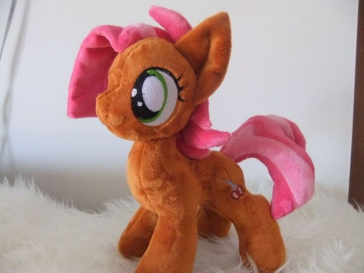 My Little Pony-FIM- Plush-BABS SEED-FRIENDSHIP IS MAGIC-toy-custom-handmade