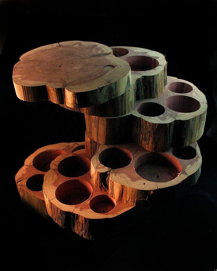 Five Tier Jewelry Box.  NEW SECRET COMPARTMENT.  Cedar Wood, Unique Gift. $89.00, via Etsy.