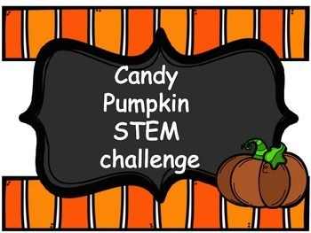 A fun engineering activity for fall. Students build geometric shapes using candy pumpkins.Materials: (per group)a bag of candy pumpkinsa box of toothpicks