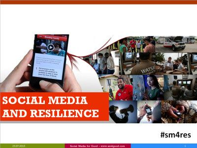 Presentation: Introduction to Social Media and Resilience