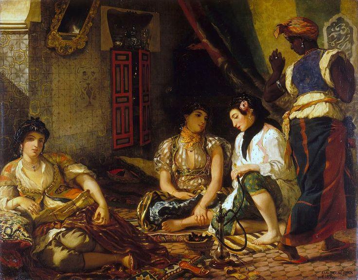 Eugène Delacroix, The Women of Algiers, The Louvre #colonialism #power #subjugation