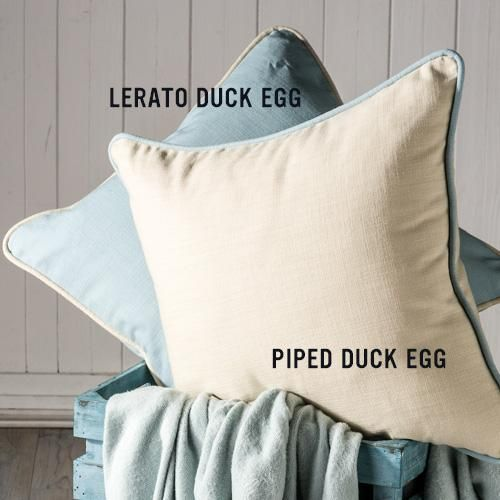 Gorgeous matching scatter cushions