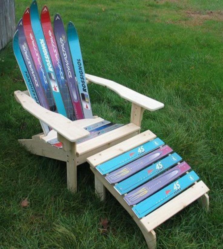 recicla tablas de esquiar