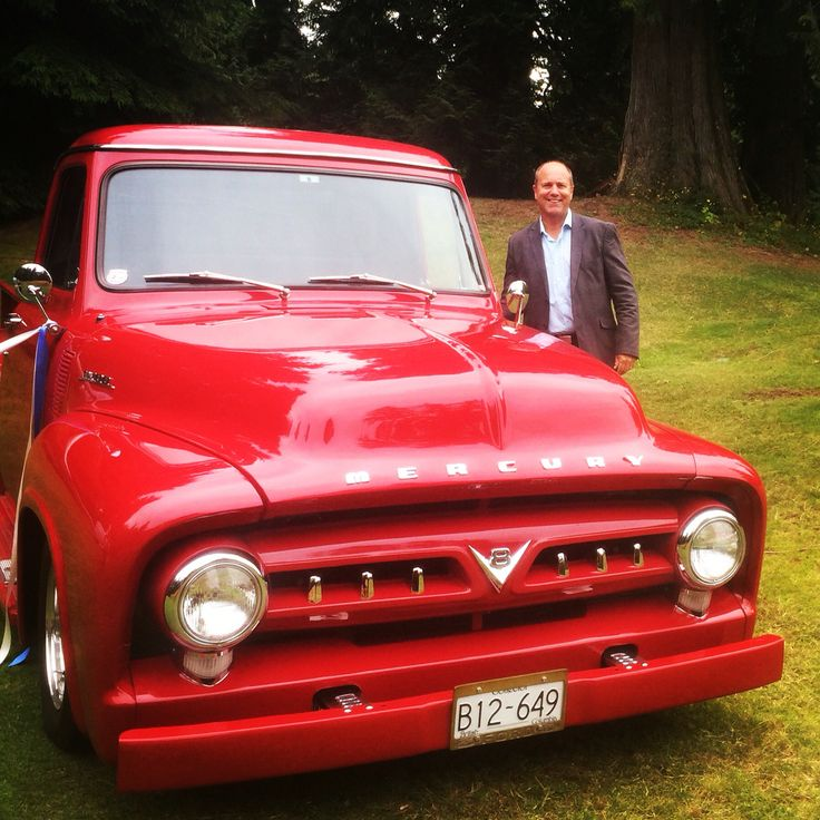 Found this red truck in the forest last Fri with the #happyweddingofficiant Name it claim it!!  Can you guess the year?