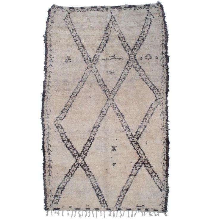 Superb Moroccan Tribal Rug