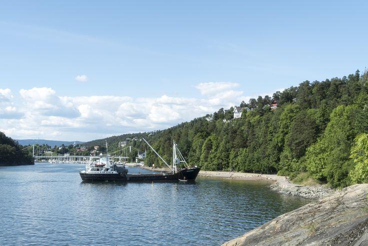 https://flic.kr/p/HCaADR   Påfyll av sand på Oslos strender   Nordstrand sjøbad
