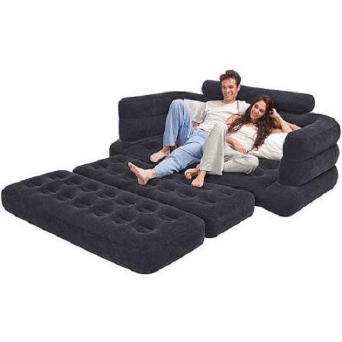 built for versatility this queen sofa inflatable bed is designed for relaxing just about anywhere