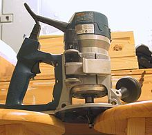 Router (woodworking) - Wikipedia, the free encyclopedia