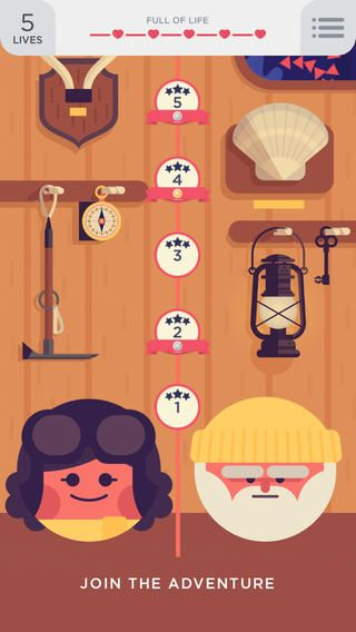 More addictive than Candy Crush: Two Dots. Love the soundtrack and neat design elements.