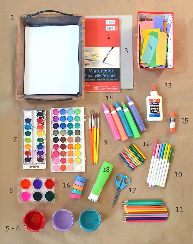 Art supplies preschool art art painting supplies - Supplies needed to paint a room ...