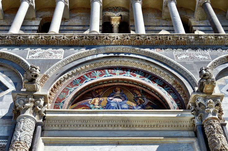 Detalle Catedral de Pisa (Pisa - Italy)