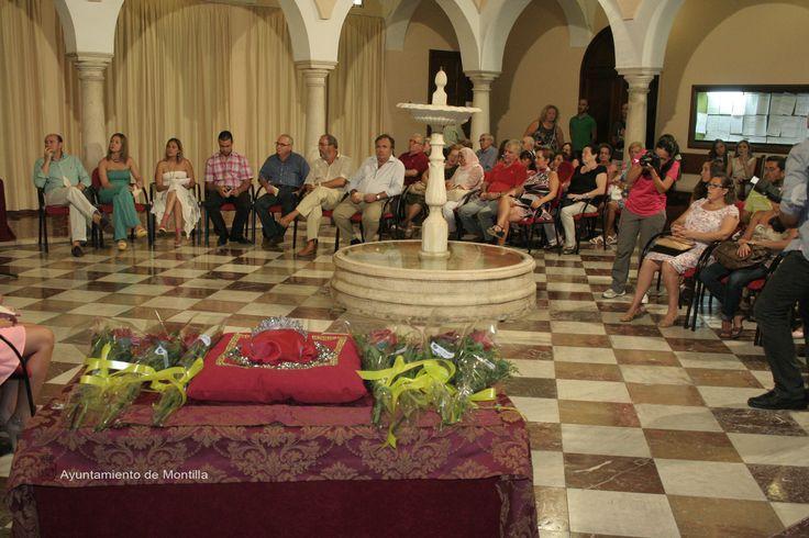 Nombramiento vendimiadoras en el Ayuntamiento de Montilla