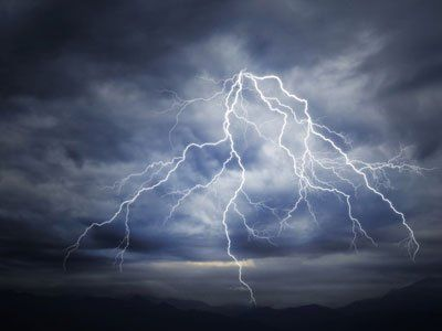 Lightning may go up due to global warming