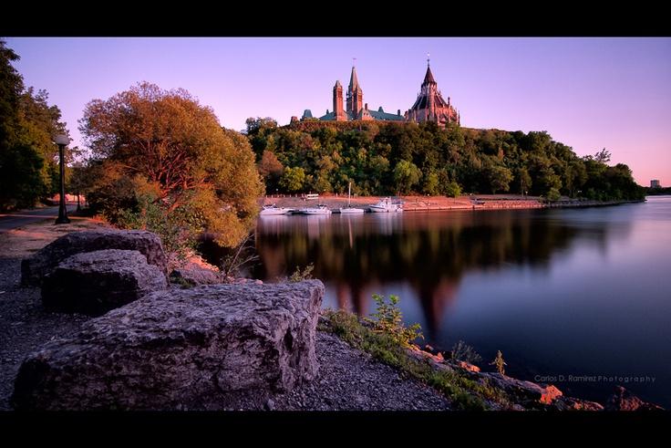 Sunset in #Ottawa
