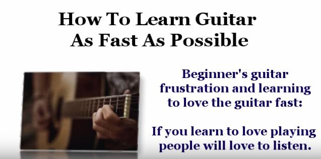 How can I learn to play the guitar fast? - Quora