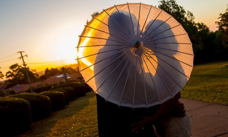 Parasole Kiss + Sunset - Salt Studios| Toowoomba Wedding and Commercial Photography