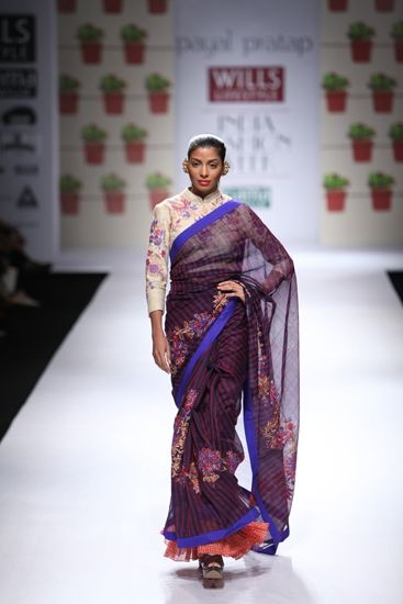 How to wear the summer sari