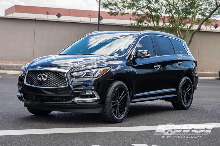 "2016 Infiniti QX60 with 20"" Koko Kuture Wheels by Wheel Specialists, Inc. in Tempe AZ . Click to view more photos and mod info."