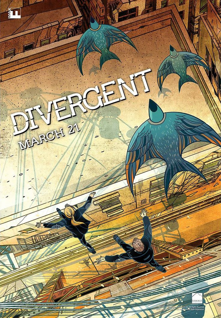 Extra Large Movie Poster Image for Divergent