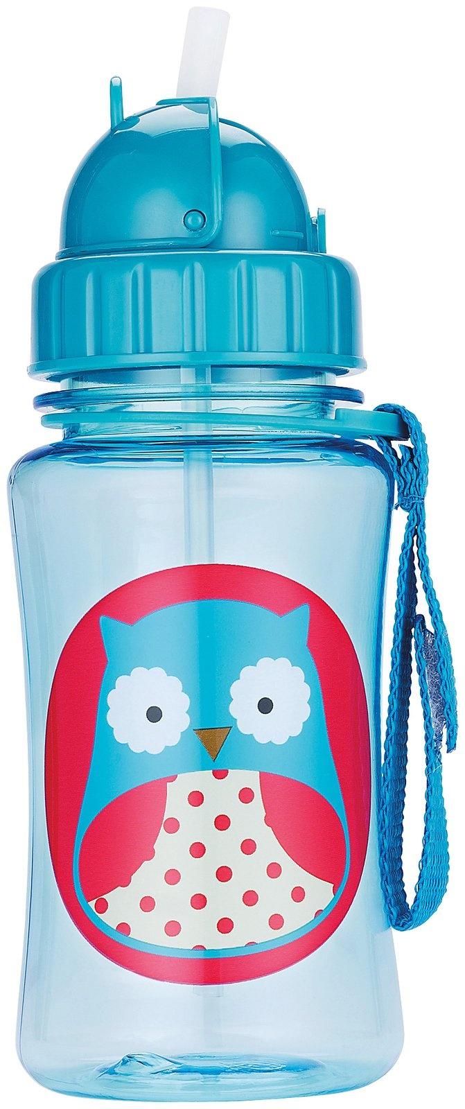 Skip Hop Zoo Straw Bottle - Owl - Best Price #storkstack