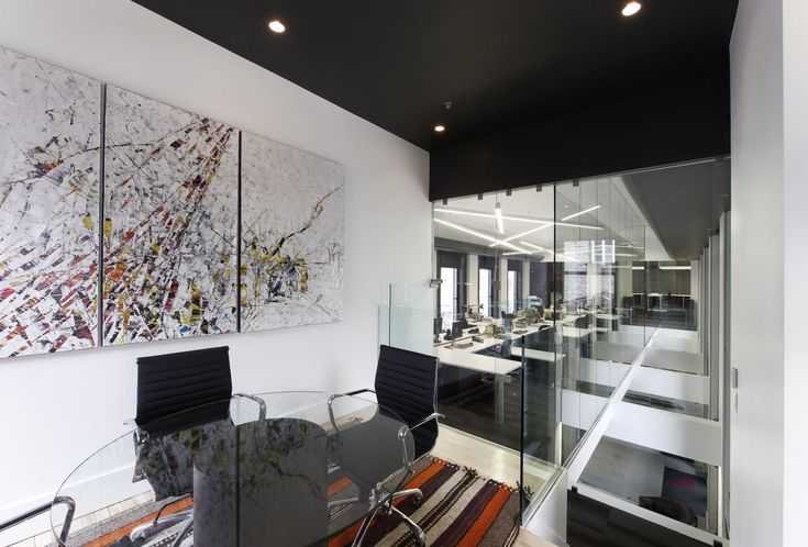 Home interior Modern Office Meeting Room Design