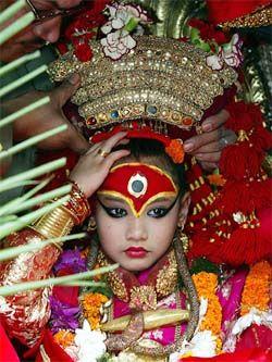 kumari devi - nepal's living goddess