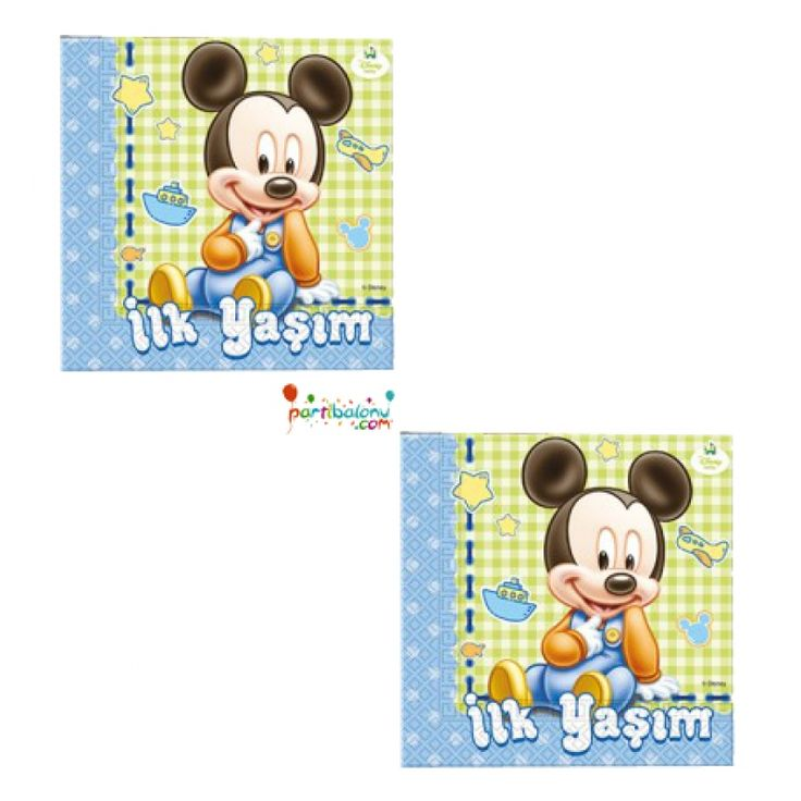 Baby Mickey Mouse Peçete
