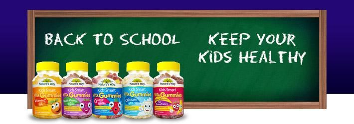Keep Your Kids Healthy with Natures Way Kids Smart Vita Gummies