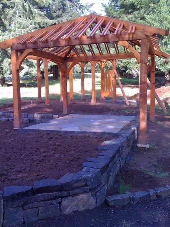 Cedar Garden Arbor By Aloha Home Builders