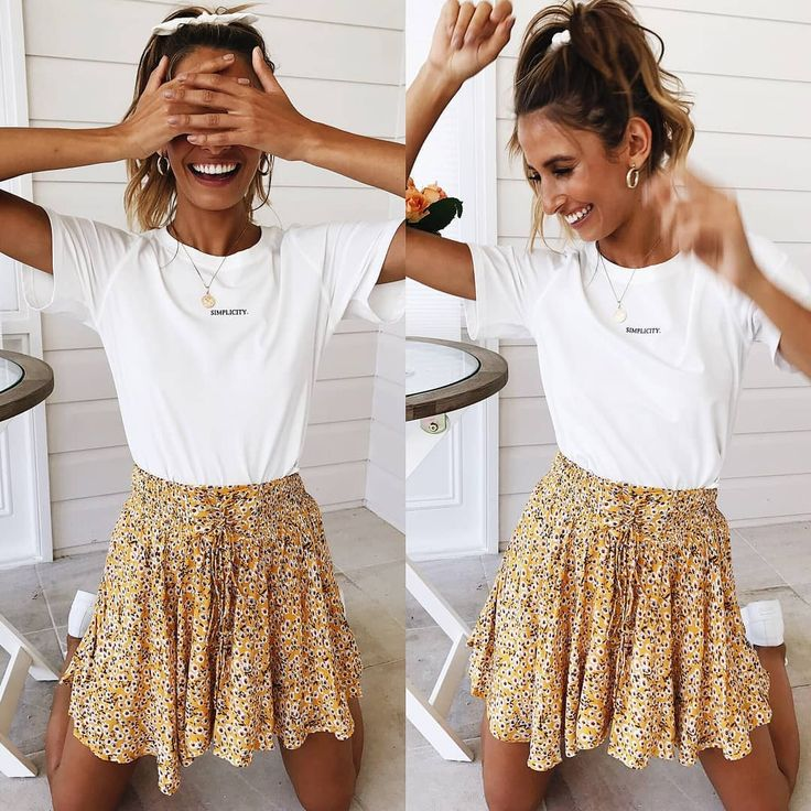 Laugh as much as you Breathe. Our latest Moon Tide Skirt is the cutest! We think you might need it in both the yellow AND the sage 🙊💕 Shop link …