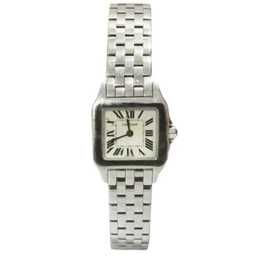 Oportunidad en Look and Stop: La versión femenina del famoso reloj Santos creado por Cartier en 1904. Más detalles en la Web de Look and Stop #cartier #oportunidad #santos