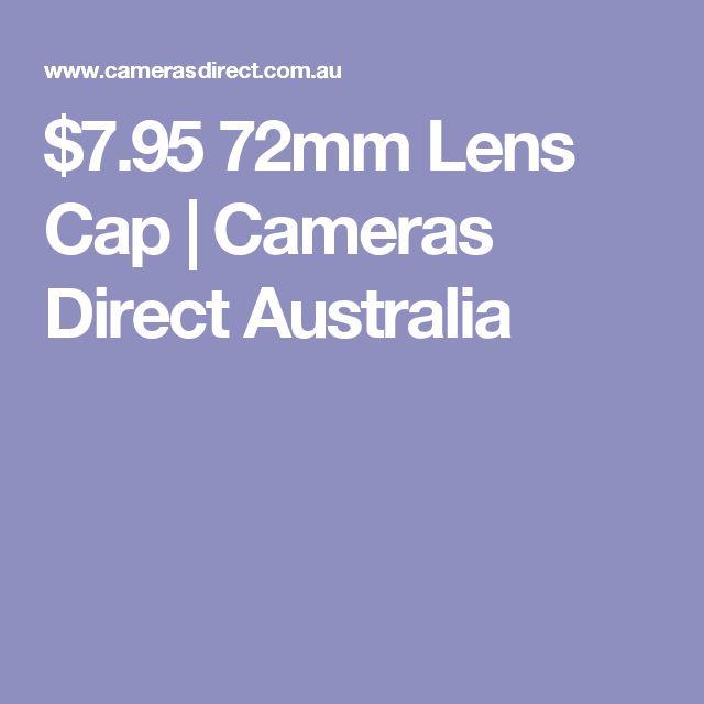 $7.95 72mm Lens Cap | Cameras Direct Australia