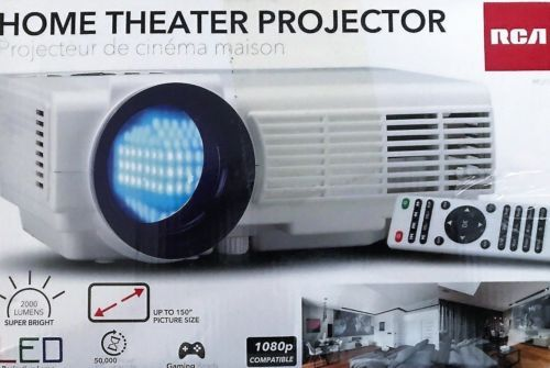 RCA Home Theater Projector Full HD 1080P 2000 Lumens RPJ116