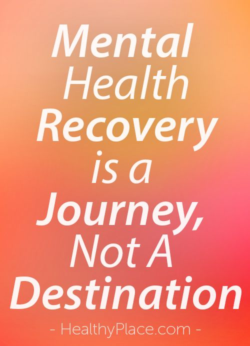 recovery in mental health Supporting recovery when someone has a mental health condition, support from family can make a big difference however, it may be hard for us as family members to know what approach is best.
