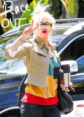 Gwen Stefani Rasta shirt